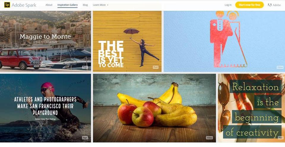ADOBE SPARK, la nueva herramienta para Storytelling visual