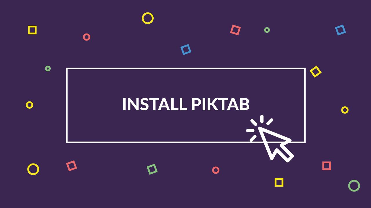PIKTAB: El buscador de recursos gráficos que estabas esperando