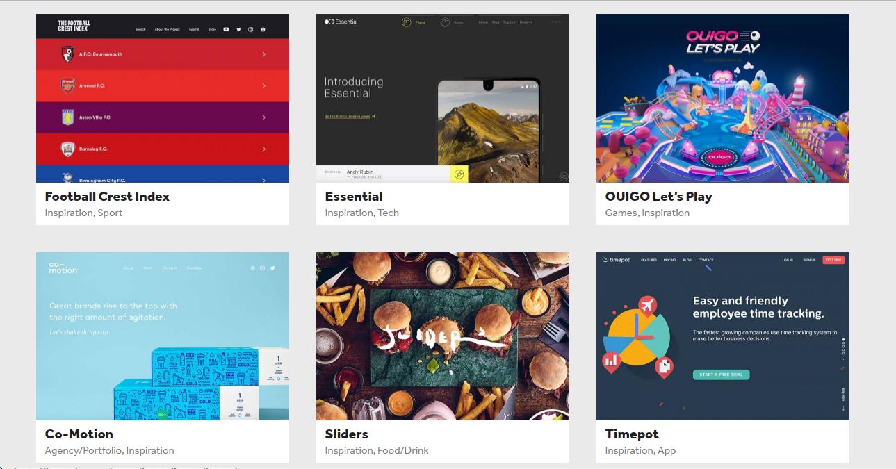 SITEBUREAU, el sitio que inspirará tus diseños web.