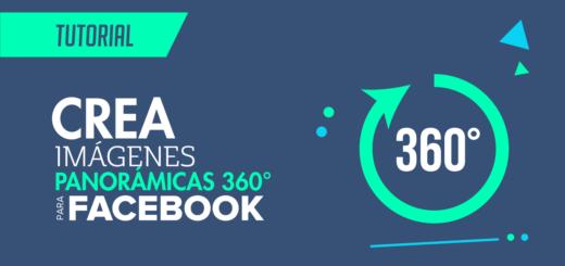 Cómo hacer imágenes panorámicas 360 para Facebook