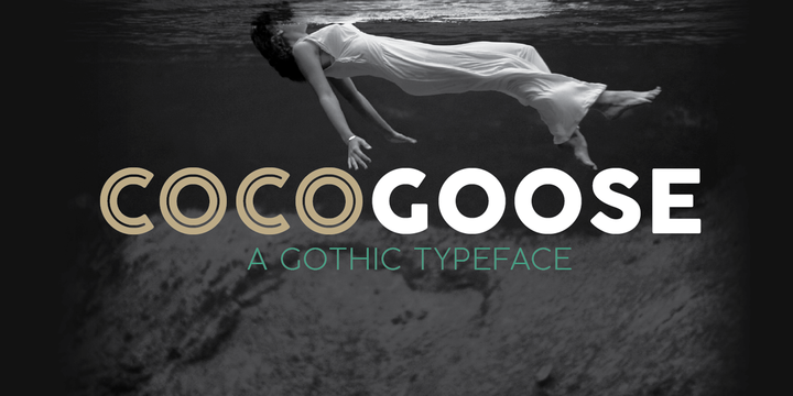 Cocogoose free font