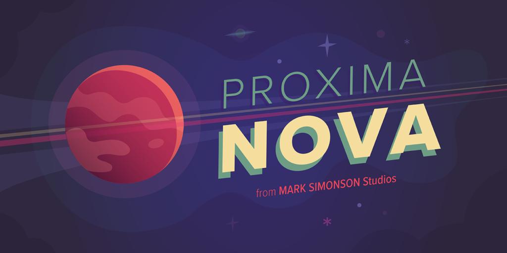 Proxima nova free font