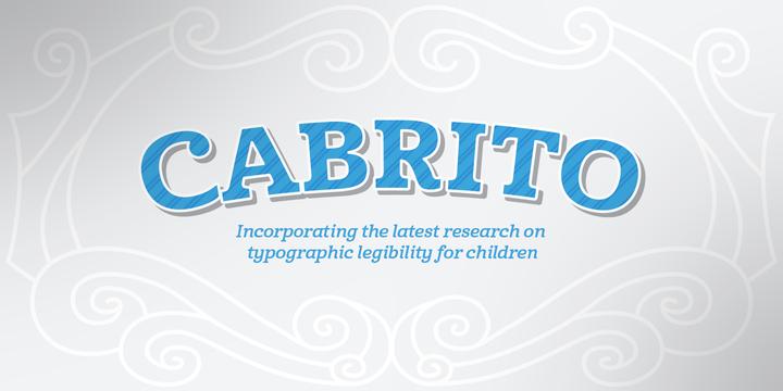Cabrito free font