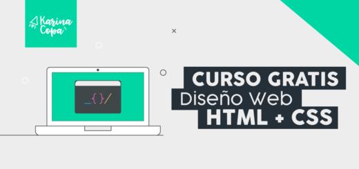 Curso gratis de Diseño Web con HTML5 + CSS