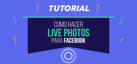 Como hacer live photos para facebook